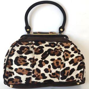 Elaine Turner Cheetah Print Handbag